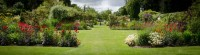 The Walled Garden in the Summer Looking West -