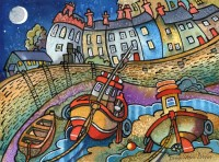 Harbour boats, Tenby 2012
