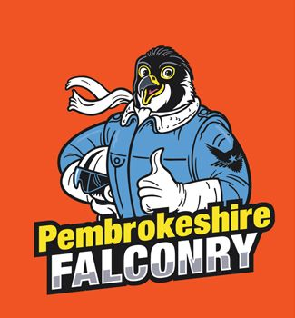 Pembs Falconry Logo