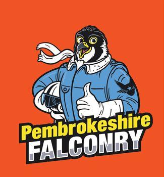 Pembs Falconry Logo