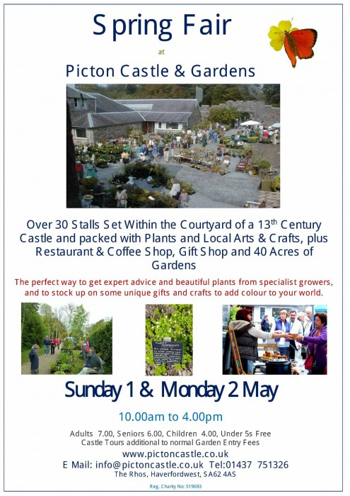 Picton Castle Craft Fair