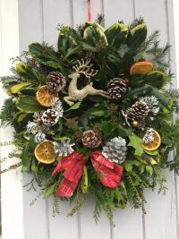 Christmas Wreath Making Workshop Picton Castle Gardens